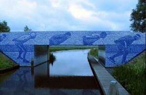 tegeltjesbrug van Aldtsjerk naar Leeuwarden
